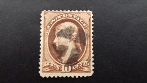 United States Thomas Jefferson 10 cents Used