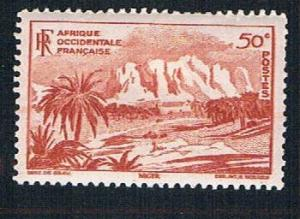 French West Africa 39 MLH Oasis of Bilma (BP10015)