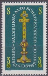 Austria #792 F-VF Mint NH ** Gold Cross