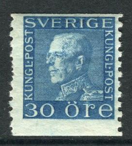 SWEDEN; 1921 early Gustav V issue fine Mint hinged 30ore. value