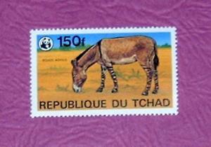 Chad - 371, MNH - Zebra. CV - $5.75