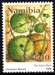 Namibia - 1998 Narra Plant MNH** SG 787