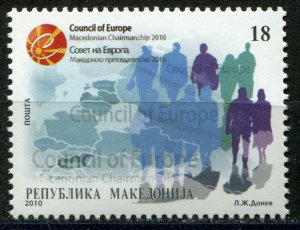 086 - MACEDONIA 2010 - Council of Europa - MNH Set