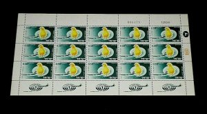 1968, ISRAEL #C41,  AIRMAIL, EXPORT ISSUE, 0.50, SHEET/ 15 , MNH, NICE! LQQK!