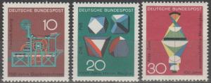 Germany #978-80 MNH F-VF (ST2501)