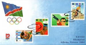 Namibia - 2004 Olympic Games FDC SG 978-981