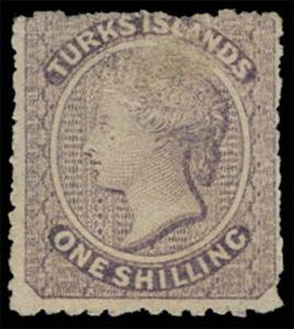 Turks Islands Scott 6 Gibbons 6 Mint Stamp