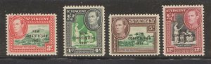 MNH 1951 ST.VINCENT Constitution Issues - See Scan