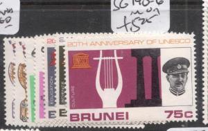 Brunei SG 140-6 MOG (2dil)