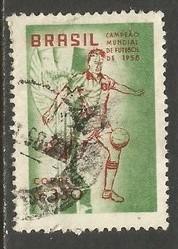 BRAZIL 887 VFU WORLD CUP O353-5