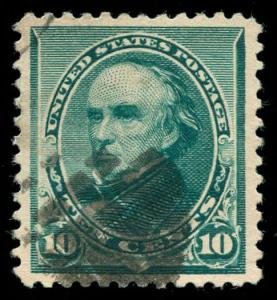 momen: US Stamps #226 Used XF+