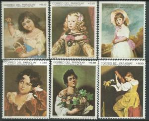 Paraguay #1099-1104 Art Series CV.$ 1.75