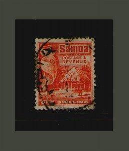Samoa 1921 Sc 153 FU