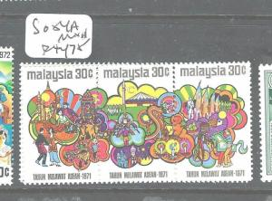 MALAYSIA (P2604B) SG 84A  MNH