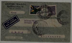 Brazil Zeppelin cover 17.10.35