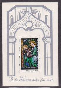 Germany - Berlin # 9NB141, Christmas Souvenir Sheet, NH