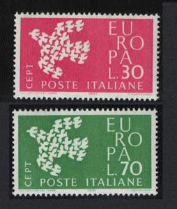 Italy Birds Europa CEPT 2v SG#1066-1067 MI#1113-1114