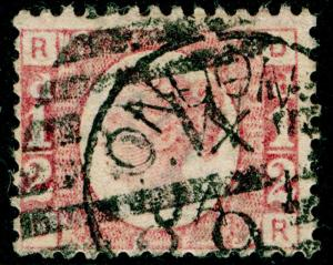 SG49, ½d rose PLATE 13, USED, CDS. Cat £22. DR