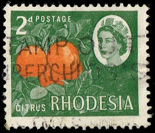 Rhodesia #224 Oranges; Used (0.25)