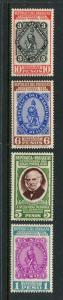 Paraguay #378-81 Mint