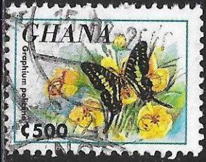 Ghana 1836 Used - Butterfly - Graphium policene - Common Swordtail