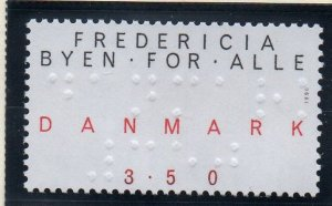 Denmark  Scott 927 1990 Fredericia Town for Everyone stamp mint NH