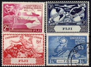 Fiji #141-4    F-VF   CV $5.95  (X1280)