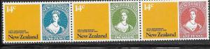 New Zealand #701-703b strip of 3 (MNH)  CV $1.80