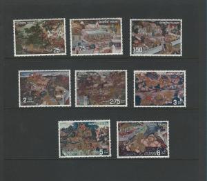Thailand  666-673  MNH