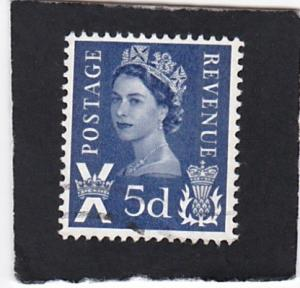 Great Britain  Scotland  #  11   used