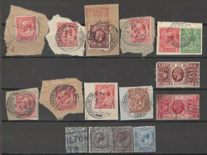 COLLECTION LOT # 4100 GB 15 STAMPS 1912+ CLEARANCE CV+$25