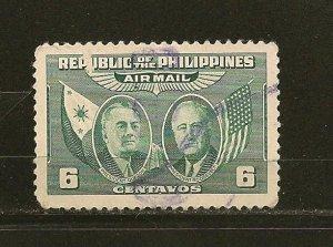 Philippines C64 Airmail Used