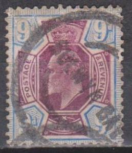 Great Britain #136 F-VF Used CV $70.00 (ST666)