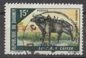 Dahomey 1968 Animals 15F (1/5) USED
