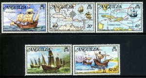 ANGUILLA - 1992 - COLUMBUS - SHIPS - DISCOVERY OF AMERICA - MINT - MNH SET!