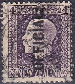 New Zealand #O52 F-VF Used CV $4.25 Z92