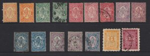 Bulgaria a small lot of M&U old ones (pre 1900)
