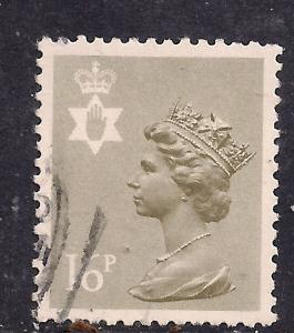 Northern Ireland GB 1983 QE2 16p Drab Machin used SG NI 42 ( D933 )