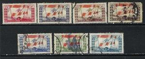 LEBANON 181-87 VFU FLAG Z453