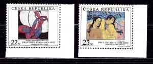 Czechoslovakia 3054-55 MNH 1998 set