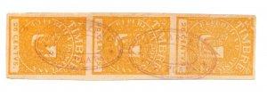 Dominican Republic revenue fiscal stamp 8-5-21