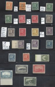 Canada KGV ARCH ISSUE COMPLETE + EXTRAS SCOTT 162-177 VF MINT NH (BS18687)