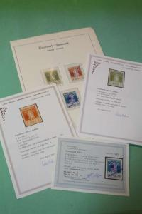 GREENLAND 1905-1945 Pakke Porte Certificate New York Set 1945 MNH Investment