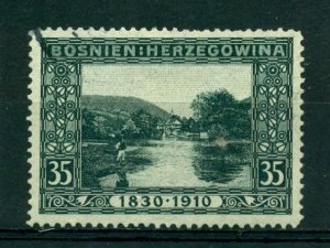 Bosnia & Herzegovina 1910 #55 U SCV(2020)=$3.75