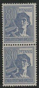 Germany AM Post Scott # 572, mint nh, pair