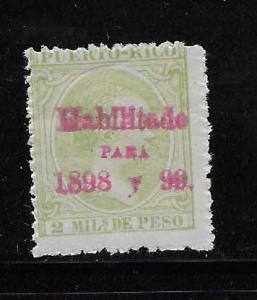 PUERTO RICO STAMP, MNG,  #17ABR36