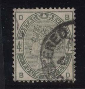 Great Britain #103 VF Used
