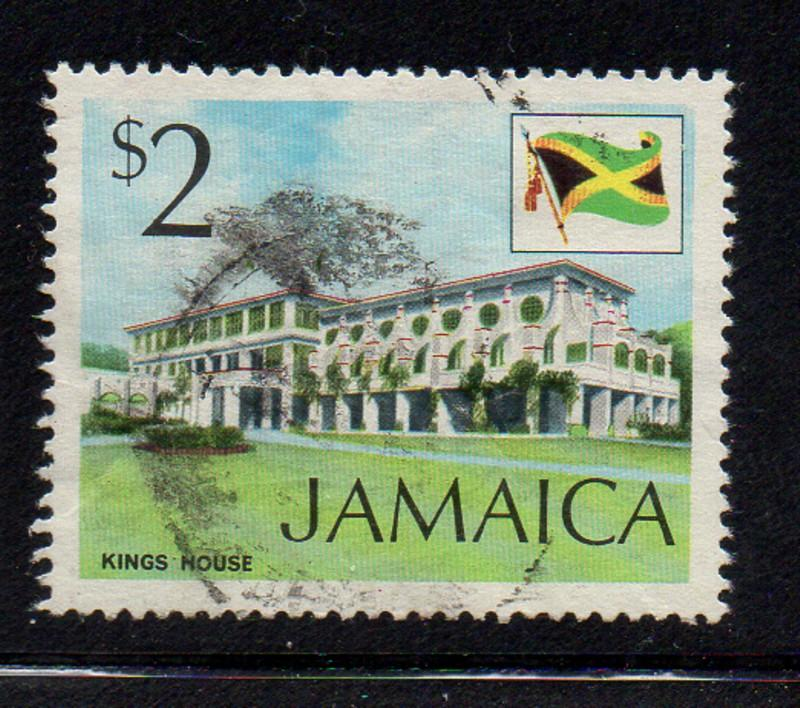Jamaica Sc 357 1972 $2 Kings House stamp used