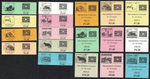 Botswana Wild Animals Booklets 1994 COLLECTION Cat. Value £460+ RAR SG#SB17-...