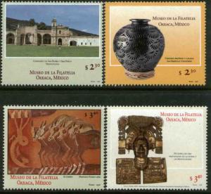 MEXICO 2084-2087, Opening Philatelic Museum, Oaxaca. MINT, NH. VF. (69)